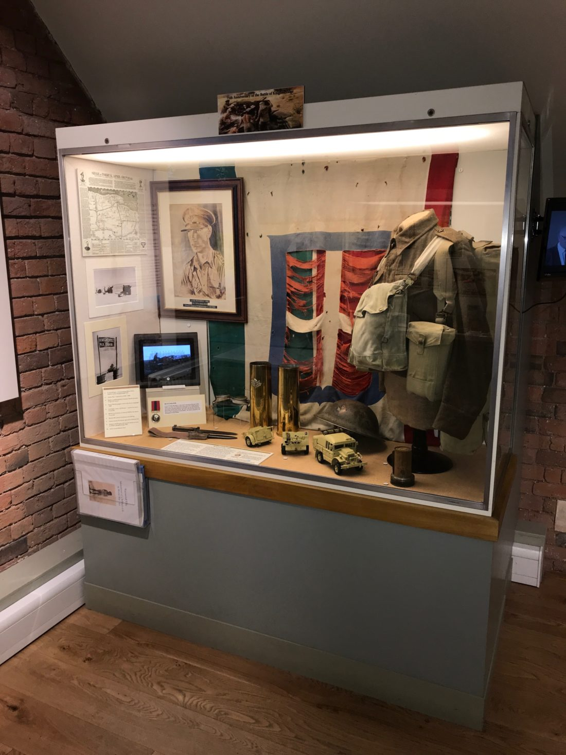 """Queens Royal Lancers museum (""""Thoresby hall"""")"""