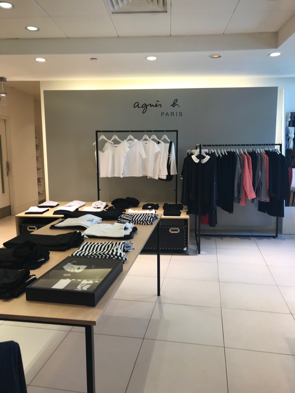Agnes b Concession at Fenwicks of Bond Street London