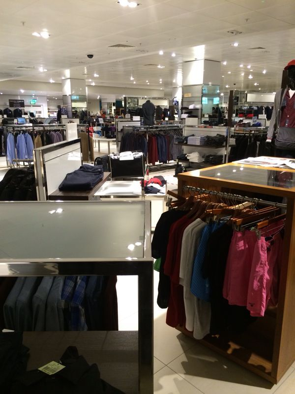 Fenwick Brent Cross Meswear Department